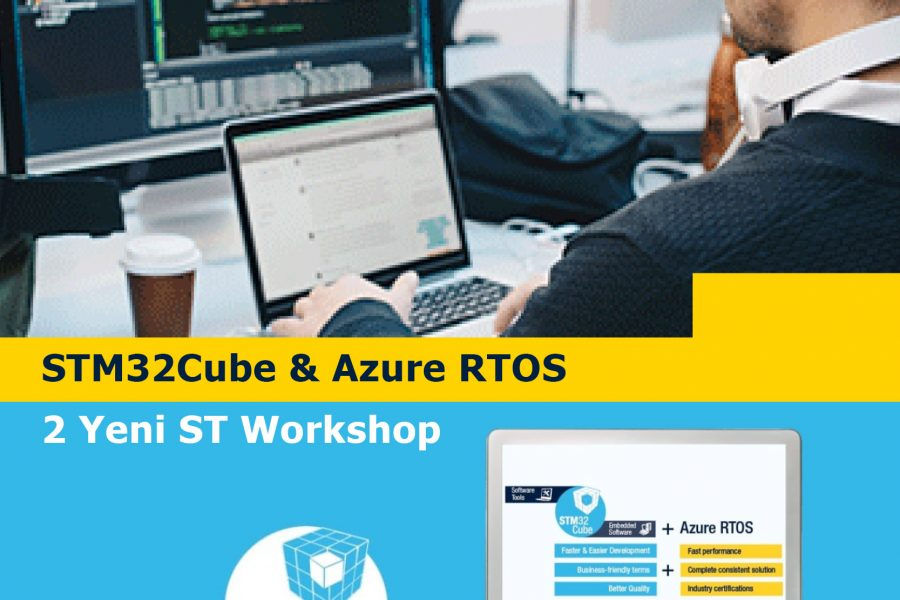 STM32Cube & Azure RTOS – 2 Yeni ST Workshop
